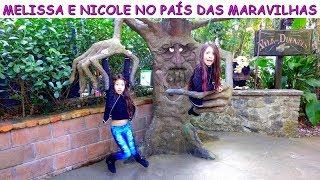 MELISSA E NICOLE NO PAÍS DAS MARAVILHAS