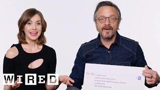 Alison Brie & Marc Maron Answer the Web