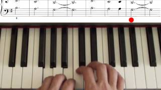 John Thompson`s easiest piano course, part 2, Three Blind Mice
