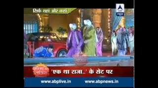 Raaz Mehel: Rana ji saves Gayatri from a falling statue
