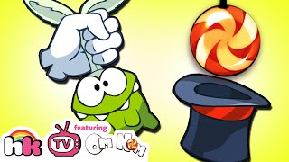 Om Nom Stories: Magic Tricks | Cut the Rope Episode 6 | Cartoons for Children | HooplaKidz TV
