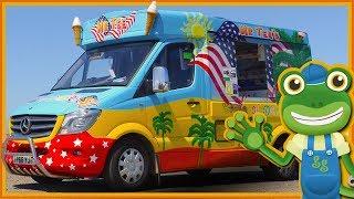 Ice Cream Truck for Children | Gecko