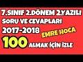 Download Video 7.SINIF DİN KÜLTÜRÜ ve AHLAK BİLGİSİ 2.DÖNEM 2.YAZILI 3GP MP4 FLV
