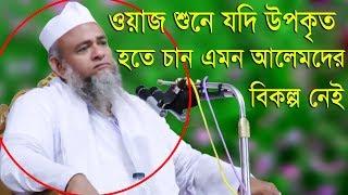Islamic Bangla Waz 2017 Maulana Farid Uddin Al Mobarak Bangla Waz 2018 হক্কানী আলেম কারে কয়?