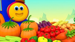 Vegetables Song   Learning Street With Bob The Train   Educational Videos For Toddlers by Kids Tv
