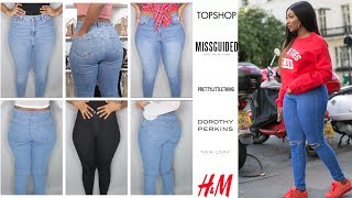 BEST JEANS FOR CURVY / THICK WOMEN