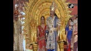India News - People across India celebrate nine-night Hindu festival