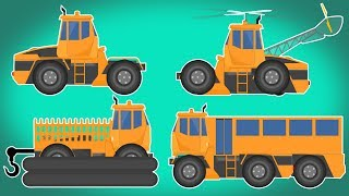 Transformer | Chopper | Rescue Boat | Passenger Bus | cartoon about cars