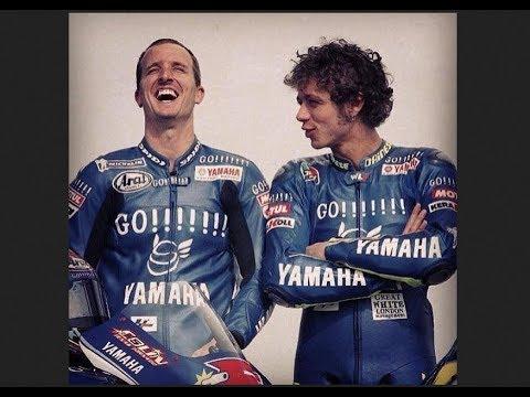 Battle Valentino Rossi vs Colin Edward vs Sete Gibernau 2005 Le Mans