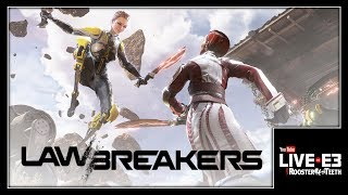 Why CliffyB HAD to Make LawBreakers - YouTube Live at E3