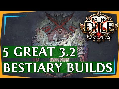 Xxx Mp4 PoE 3 2 Builds Another 5 Great Bestiary League Build Guides 2018 3gp Sex