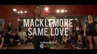 SAME LOVE - @MACKLEMORE BY JOJO GOMEZ & CHARLES ROY