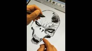 LIVE Drawing: Hamburger Head Spawn