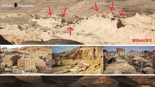 The ancient ruins of an Alien City on Mars in the official images of NASA