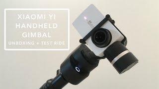 Gimbal Yi - Unboxing + Test sur Trottinette Electrique