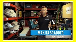 "Tool Review - Makita Brad Nailer18V LXT Lithium-Ion Cordless 2"" Brad Nailer"