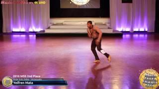 WSS16 Professional Male Solo Salsa 2nd Place Yeifren Mata
