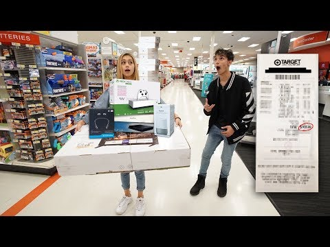 Anything My GIRLFRIEND Can Carry I ll Buy It Challenge