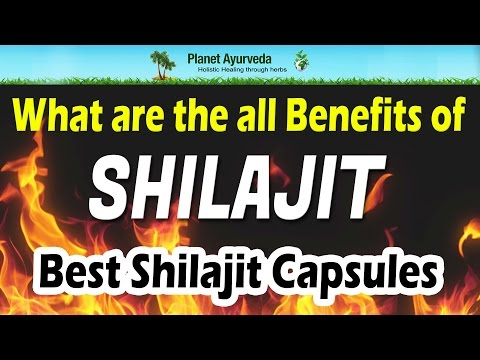 What are the all Benefits of Shilajit - Best Shilajit Capsules