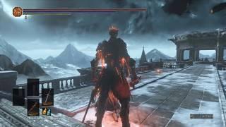 Dark Souls 3 Soul of Cinder vs Aldrich Battle - Return of Gwyn at Home!