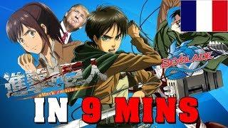 L'Attaque des Titans (Saison 1) EN 9 MINUTES - Gigguk FR - RE: TAKE