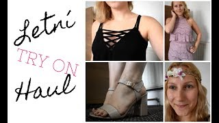 LETNÍ FASHION & BEAUTY TRY ON HAUL | Life with Carol