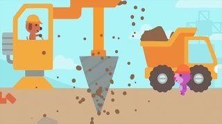 Fun Sago Mini Games - Baby Fun Build Construction Building With Sago Mini Trucks And Diggers