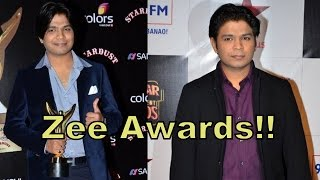 Sun Raha Hai Na Tu Singer Ankit Tiwari's Interview on The Red Carpet of Zee Cine Awards