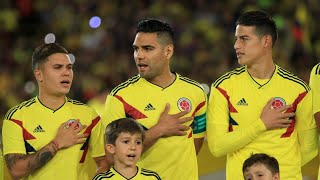 Colombia practice World Cup goal celebration dance moves