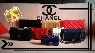 MY LIFE IN COLORS || 2016 CHANEL BAG COLLECTION - BOYS EDITION