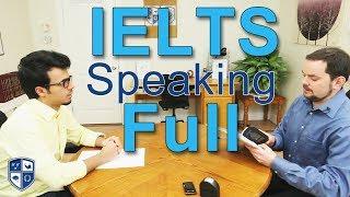 IELTS Speaking Band 7.5 - Arabic FULL