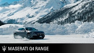 Maserati Q4 Range. 2018 Ice Driving Experience