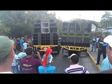 TRYBU VS. LA MAQUINA carnavales 2015