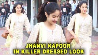 Jhanvi kapoor Spotted In Killer Dressed Look At Bastian Restaurant In Bandra | Bollywood 2018