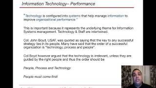 Information Systems Resource Management (Hofstra) Module1.1 Part 2