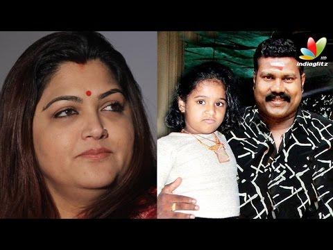Khushboo appreciates KalaBhavan Mani's daughter | Hot Tamil Cinema News