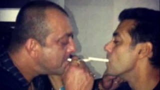 Salman Khan PARTYING With Sanjay Dutt After Coming Out Of Jail 2016