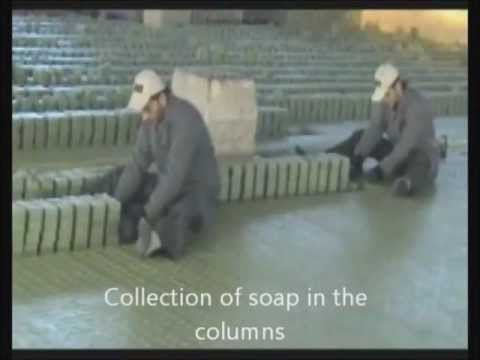 How Lorbeer Aleppo Soap is made savon d Alep seife Алеппо мыло 阿勒颇肥皂