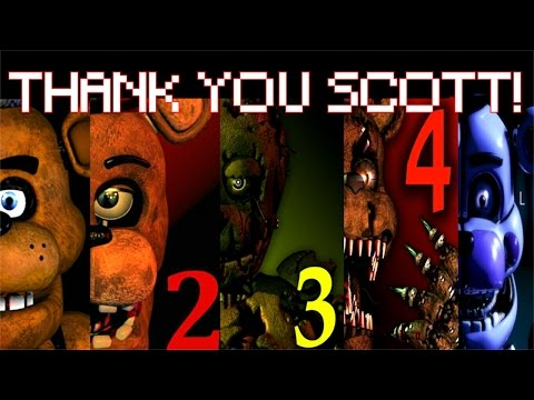 Five Nights at Freddy's 1-4 Jumpscare