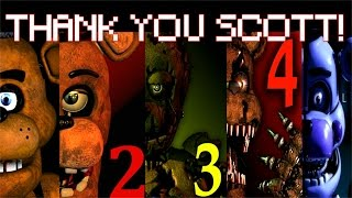 Five Nights at Freddy's 1-4 Jumpscare Simulator [2016]