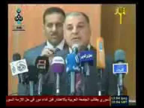 محافظ صلاح الدين يقسم بالقران انه يعرف االارهابين في تظاهرات الانبار وصلاح الدين