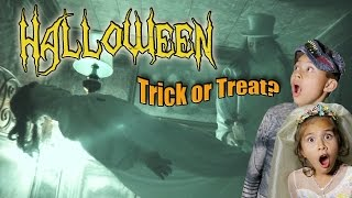 TRICKS, TREATS & HAUNTED HOUSES!!! Halloween 2015 Goosebumps!