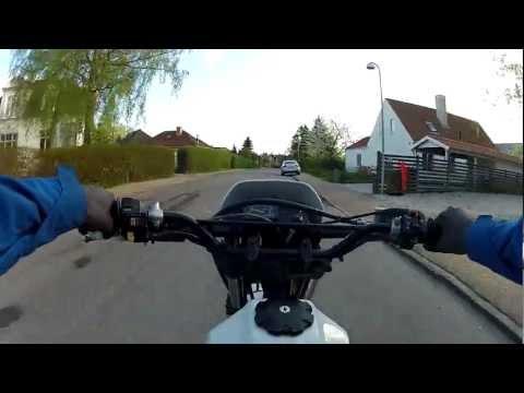 HD Suzuki DR 125 SE GoPro HD Dirt Motocross Enduro Bike Street Ride
