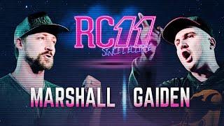 Rap Contenders 11 : Gaiden vs Marshall Ombre