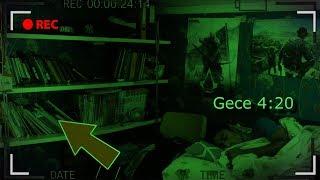 UYURKEN GECE ODAMA KAMERA YERLEŞTİRDİM😨 (Paranormal Olaylar!!)