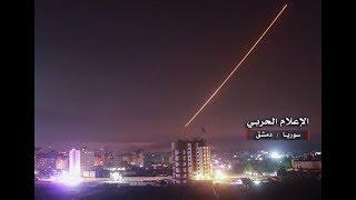 BREAKING Israeli Air Strikes on Damascus Airport Syria September 16 2018 News