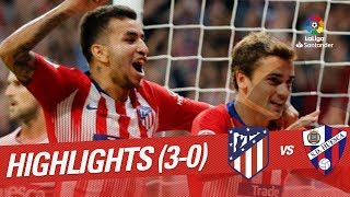 Resumen de Atlético de Madrid vs SD Huesca (3-0)