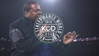 Busta Rhymes Live Performance KOD Dance World Cup Finals Featuring Spliff Star, Les Twins