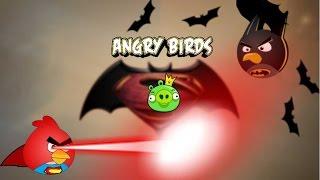 Bad piggies v/s Angry gunbird season 2 (Batman vs suparman)