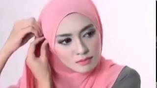 Tutorial Hijab Pashmina Wajah Bulat Kreasi Pashmina Terbaru